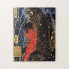 坂田金時と巨鯉, 国芳, Sakata Kintoki & Huge Carp, Kuniyoshi Jigsaw Puzzle