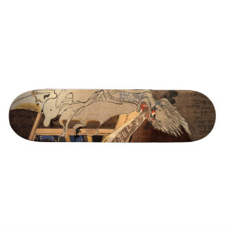 妖怪, 国芳 Japanese Zombie, Kuniyoshi, Ukiyo-e Skateboard