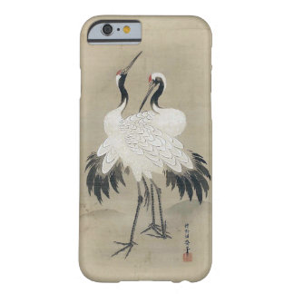 旭日双鶴図, 狩野洞春 Cranes & Morning sun, Kano Doushun Barely There iPhone 6 Case