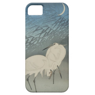 月と白鷺, 古邨 Egrets & Moon, Koson, Ukiyo-e iPhone 5 Cases