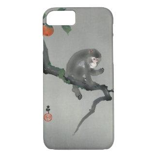 柿に猿, 古邨 Monkey on Persimmon tree, Ohara Koson Case-Mate iPhone Case