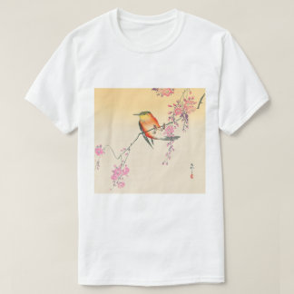 桜に鳥, 小原古邨 Bird & Cherry Blossoms, Ohara Koson T-Shirt