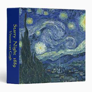 梵 高, Vincent Van Gogh 3 Ring Binders