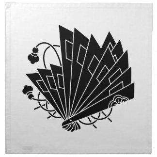 檜 fan butterfly napkin