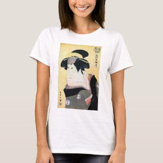 江戸の歌舞伎役者, 写楽 Edo Kabuki Actors, Sharaku, Ukiyoe T-Shirt