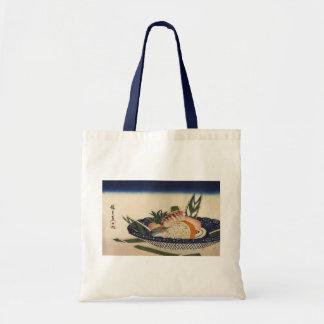 江戸前寿司, 広重 Sushi Bowl, Hiroshige, Ukiyoe Tote Bag
