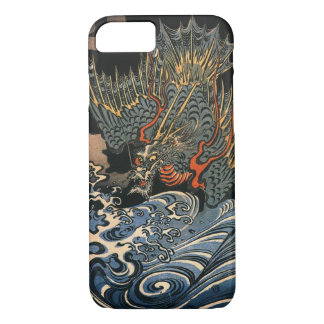 海龍, 国芳, Sea Dragon, Kuniyoshi, Ukiyo-e iPhone 8/7 Case