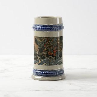 海龍, 国芳, Sea Dragon, Kuniyoshi, Ukiyo-e Coffee Mugs