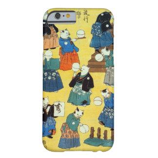 猫の曲芸師, 国芳 Acrobat of the Cats, Kuniyoshi, Ukiyo-e Barely There iPhone 6 Case