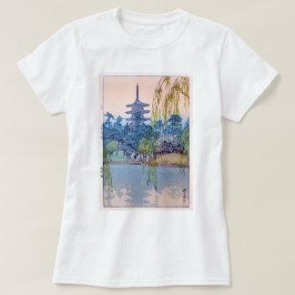 猿澤池, Sarusawa Pond, Hiroshi Yoshida, Woodcut T-Shirt