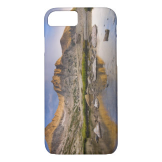 米国、コロラド州のロッキー山脈NP。  雨雲 iPhone 7 CASE
