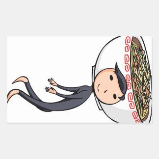 萌 palm boy English story Ramen shop Kanagawa Sticker