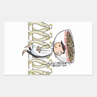 萌 palm doctor English story Ramen shop Kanagawa Sticker