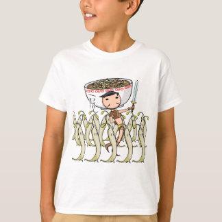 萌 palm soldier English story Ramen shop Kanagawa T-Shirt