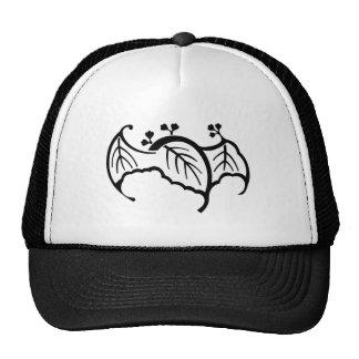 蝙 蝠 paulownia trucker hat