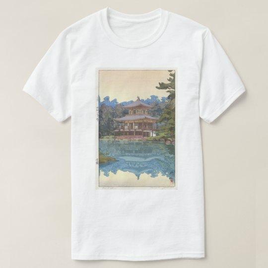 金閣寺, Kinkaku-ji, Hiroshi Yoshida, Woodcut T-Shirt