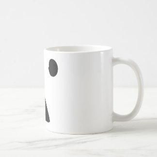 ●▲●顔 コーヒーマグカップ