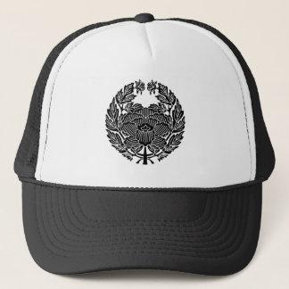 鷹 Osamu peony (research of fixed crest) Trucker Hat