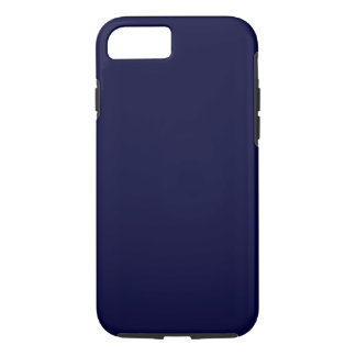 000033 Solid Color Navy Blue Background Template iPhone 7 Case