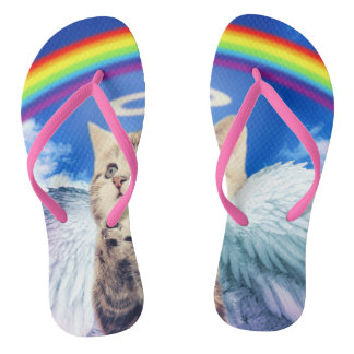 000-catpray flip flops