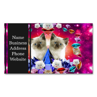 000-diamoncat magnetic business card