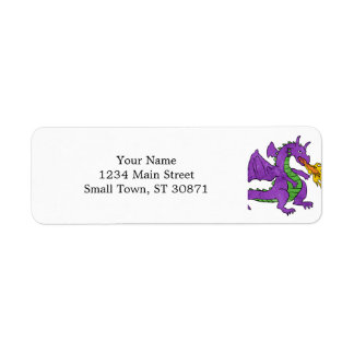 000-DRAG RETURN ADDRESS LABEL