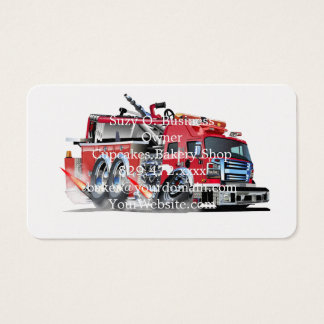 000-firetruck business card