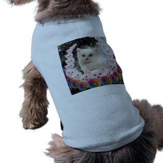 000-flower-cat doggie t shirt