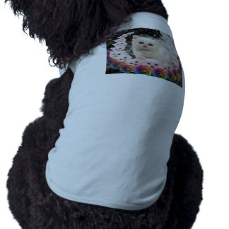 000-flower-cat doggie tee shirt