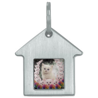 000-flower-cat pet name tags