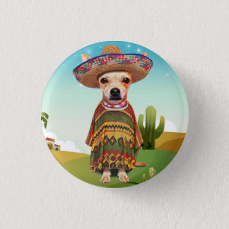 000-mexican 1 inch round button