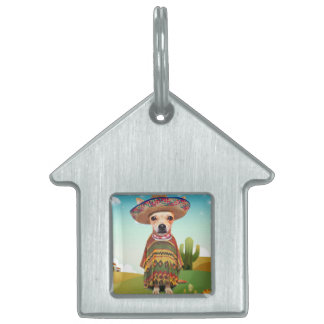 000-mexican pet name tag