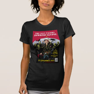 000- The 2012 Zombie Festerval full color poster 1 T-Shirt