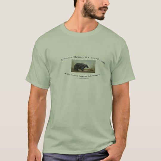000Black Bear T-shirt
