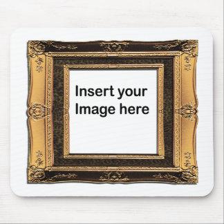 001 Gold Vintage Frame mousepad Template