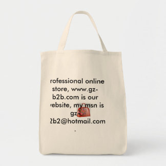 001, Hi ,buddy .im  a professional online store... Grocery Tote Bag