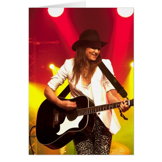 001 KT Tunstall at Cambridge Folk Festival Card