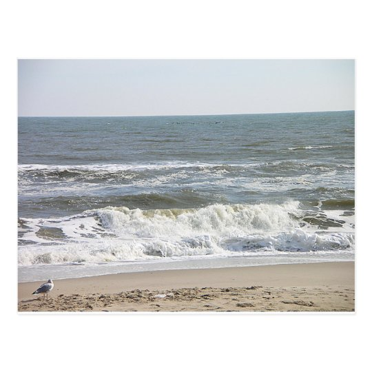 001 LBI waves Postcard