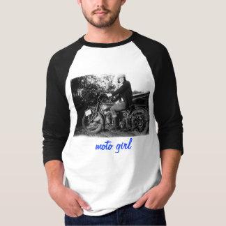 00254, moto girl T-Shirt