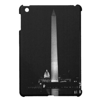 0031 Washington's Glow (Night B&W).JPG Case For The iPad Mini