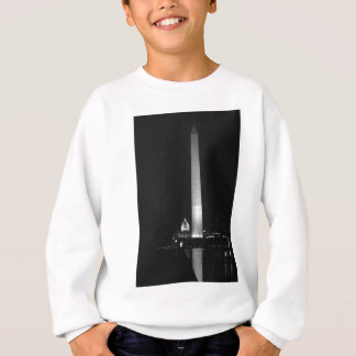 0031 Washington's Glow (Night B&W).JPG Sweatshirt