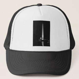 0031 Washington's Glow (Night B&W).JPG Trucker Hat