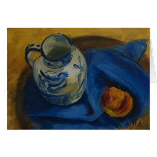 0072-Still Life with Jug & Apple Card