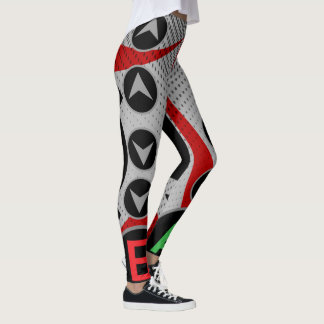00 LvL Cheat Code Leggings