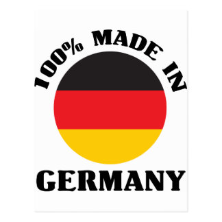 !00% Made In Germany Postcard