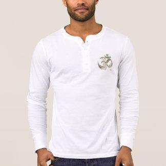 0101 Om 3 Canvas Henley Long Sleeve shirt