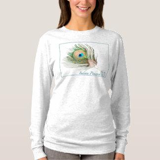 0101 Peacock Hanes Nano Long Sleeve T-Shirt