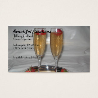 012, Beautiful Creations, Tiffany Caldwell, Own... Business Card