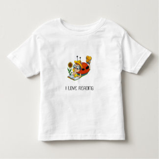 013, I LOVE READING - Customized Toddler T-shirt