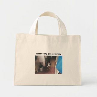 016_13A, Roscoe-My precious boy Mini Tote Bag
